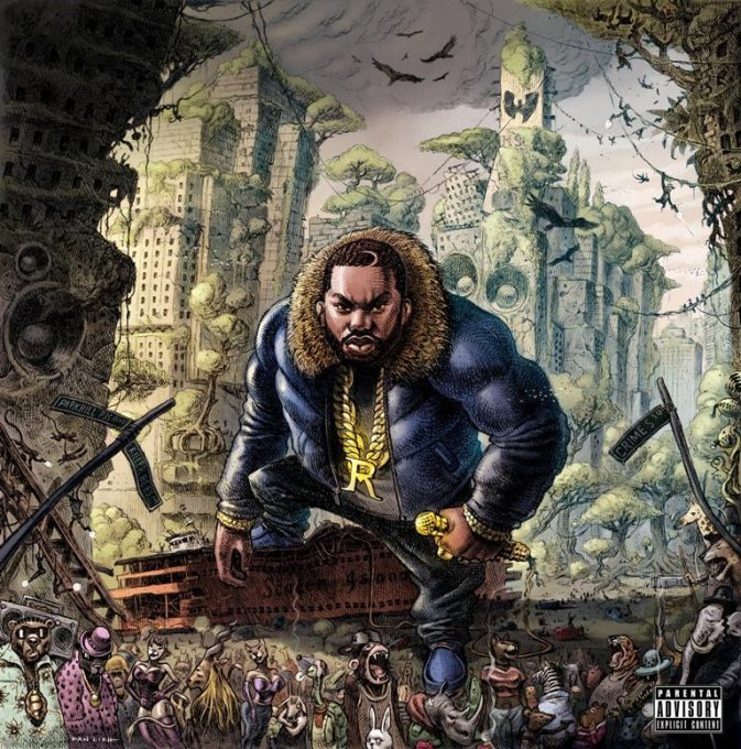 Raekwon – The Wild (Album Cover/Release Date March 10th 2017)